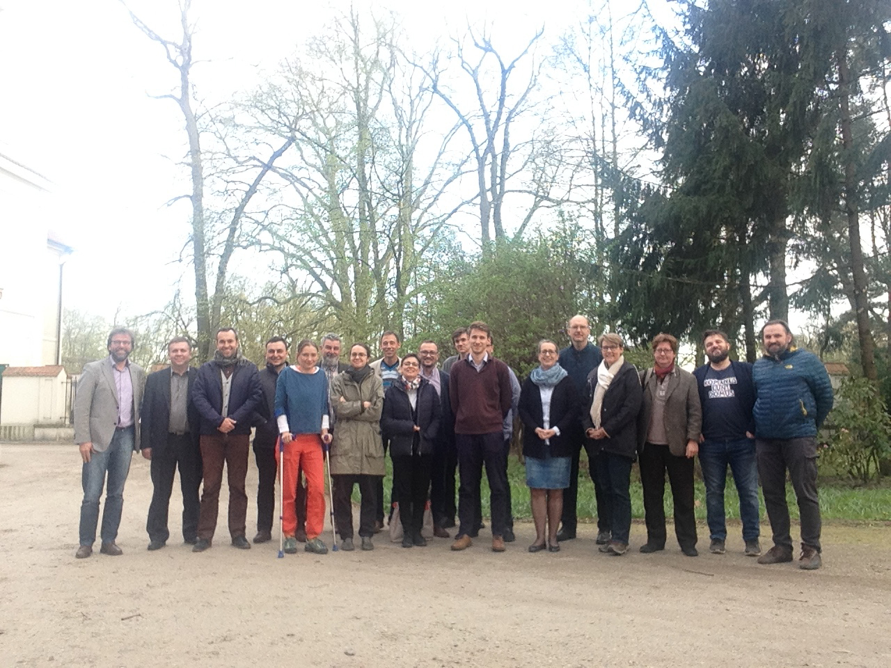 Nieborów meeting group photo